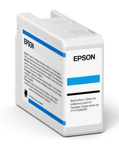 Original Epson T47A5 Light Cyan Inkjet Cartridge C13T47A500