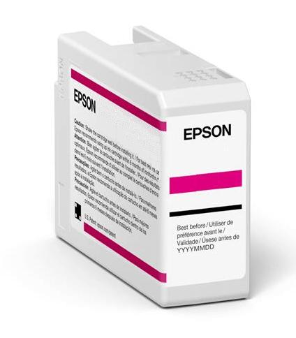 Original Epson T47A6 Light Magenta Inkjet Cartridge C13T47A600