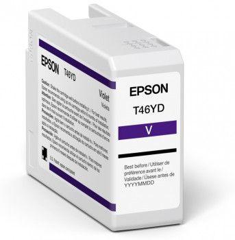 Original Epson T47AD Violet Inkjet Cartridge C13T47AD00