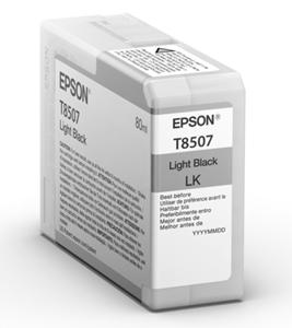 Original Epson T8507 Light Black Inkjet Cartridge (C13T850700)