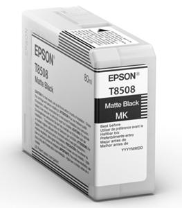 Original Epson T8508 Matt Black Inkjet Cartridge (C13T850800)