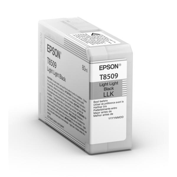 Original Epson T8509 Light Light Black Inkjet Cartridge (C13T850900)