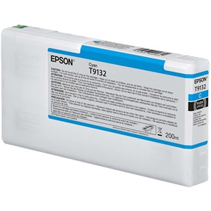 Original Epson T9132 Cyan Inkjet Cartridge (C13T913200)
