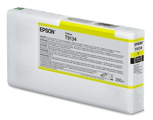 Original Epson T9134 Yellow Inkjet Cartridge (C13T913400)
