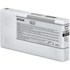 Original Epson T9137 Light Black Inkjet Cartridge (C13T913700)