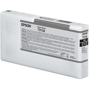 Original Epson T9138 Matt Black Inkjet Cartridge (C13T913800)
