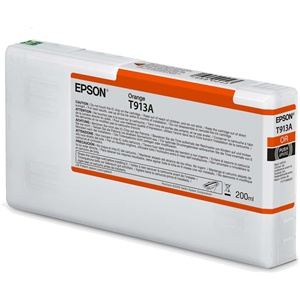 Original Epson T913A Orange Inkjet Cartridge (C13T913A00)