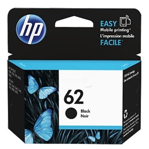 Original HP 62 (C2P04AE) Black Ink Cartridge