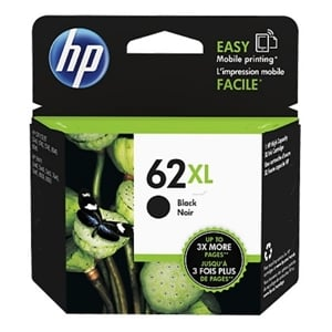 Original HP 62XL (C2P05AE) Black High Capacity Ink Cartridge