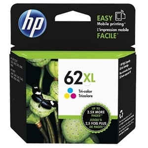 Original HP 62XL (C2P07AE) Colour High Capacity Ink Cartridge