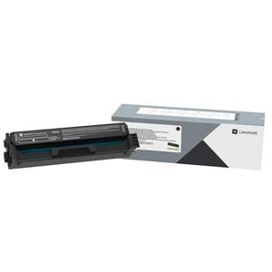 Original Lexmark C332HK0 Black High Capacity Toner Cartridge (C332HK0)