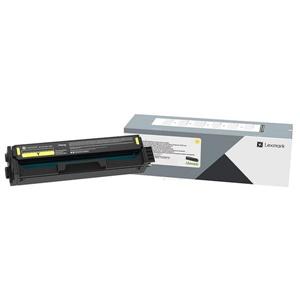 Original Lexmark C332HY0 Yellow High Capacity Toner Cartridge (C332HY0)