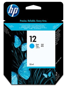 Original HP 12 Cyan Ink Cartridge (C4804A)