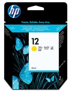 Original HP 12 Yellow Ink Cartridge (C4806A)