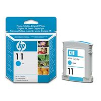 HP Original No. 11 Cyan Ink Cartridges (C4836AE)