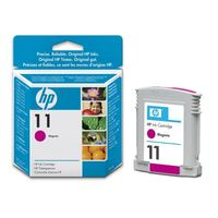 HP Original No. 11 Magenta Ink Cartridges (C4837AE)