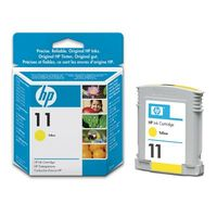 HP Original No. 11 Yellow Ink Cartridges (C4838AE)