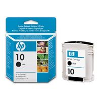 HP Original No. 10 Black Ink Cartridge (C4844AE)