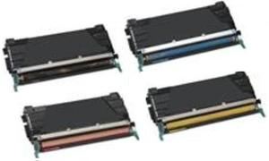 Compatible Lexmark C5220 Set Of 4 Toner Cartridges (Black,Cyan,Magenta,Yellow)