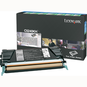 Original Lexmark C5240KH Black Toner Cartridge