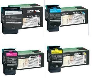 Original Lexmark C540A1 Toner Cartridge Multipack