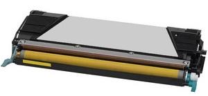 Compatible Lexmark 0C734A1YG Yellow Toner Cartridge