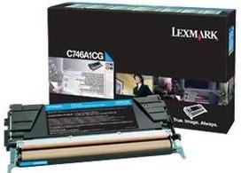 Lexmark Original C746A1CG Cyan Toner Cartridge