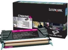 Lexmark Original C746A1MG Magenta Toner Cartridge