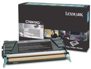 Lexmark Original C746H1KG Black High Capacity Toner Cartridge