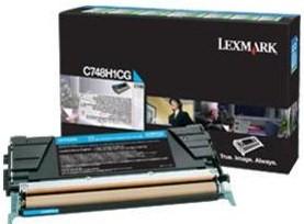 Lexmark Original C748H1CG Cyan High Capacity Toner Cartridge