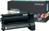 Original Lexmark C7720CX Cyan Toner Cartridge