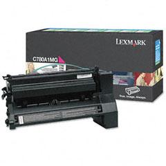 Original Lexmark C780A1MG Magenta Toner Cartridge