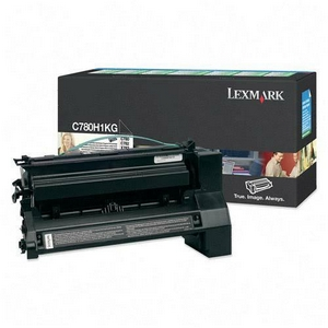 Original Lexmark C780H1KG Black Toner Cartridge