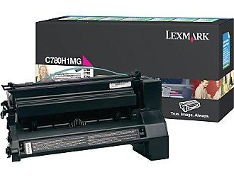 Original Lexmark C780H1MG Magenta Toner Cartridge