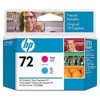 HP Original Printhead No. 72 Magenta and Cyan