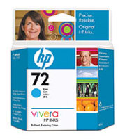 HP Original No. 72 Cyan Ink Cartridge (69ml)