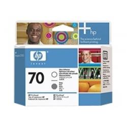 HP Original Printhead No. 70 Gloss Enhancer and Grey