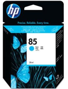 Original HP 85 Cyan Ink Cartridge (C9425A)
