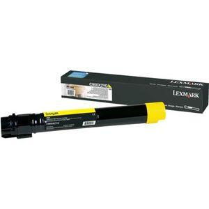 C950X2YG Yellow Toner Cartridge