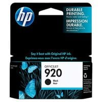 HP Original 920 Black Ink Cartridge (CD971AE)