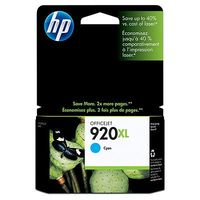 HP Original 920XL Cyan High Capacity Ink Cartridge (CD972AE)