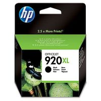 HP Original 920XL Black High Capacity Ink Cartridge (CD975AE)