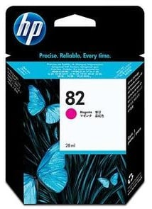 Original HP 82 Magenta Ink Cartridge (CH567A)