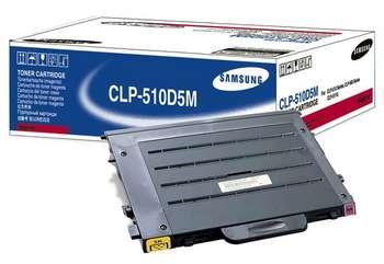 Original Samsung CLP-510D5M Magenta Toner Cartridge