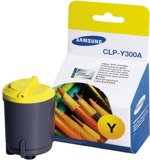 Original Samsung CLPY300A Yellow Toner Cartridge