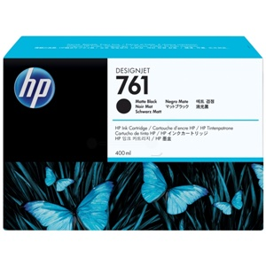 Original HP 761 Matt Black Inkjet Cartridge (CM991A)