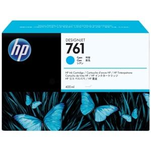 Original HP 761 Cyan Inkjet Cartridge (CM994A)