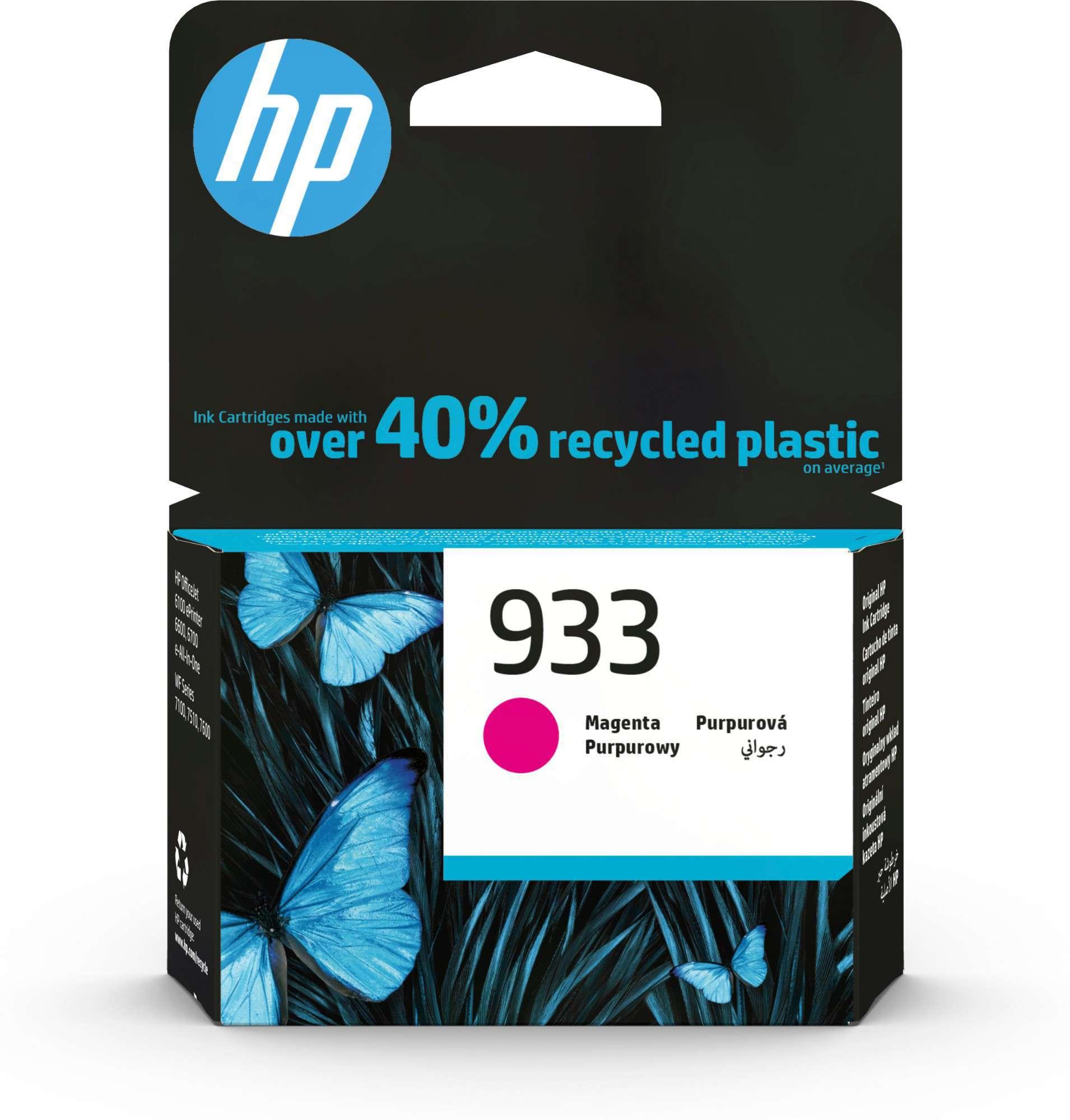 HP Original 933 Magenta Ink Cartridge CN059AE