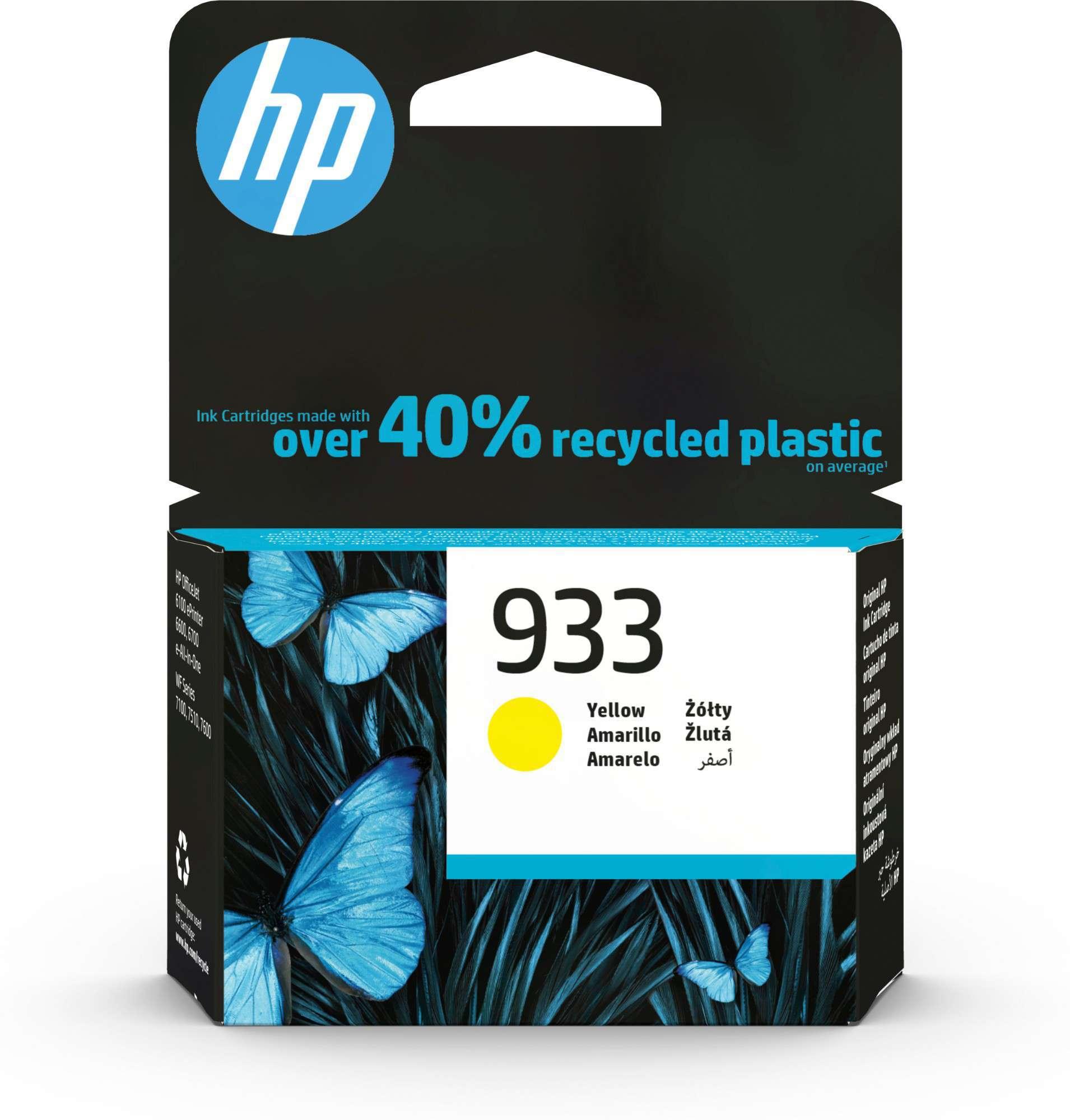 HP Original 933 Yellow Ink Cartridge CN060AE
