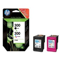 HP Original Black & Colour 300 (CN637EE) Ink Cartridge Multipack